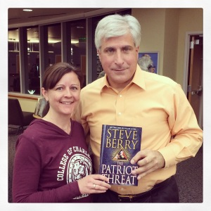 Meeting Steve Berry