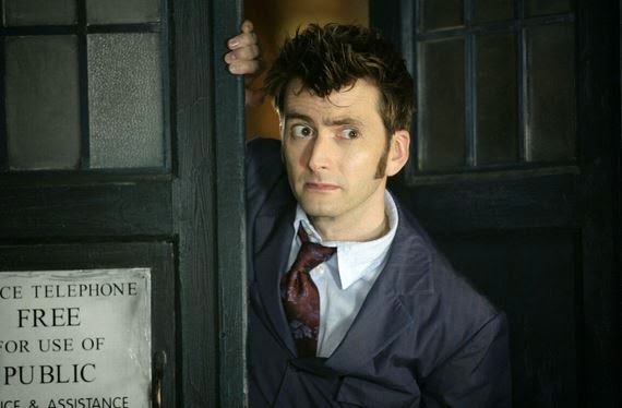 tennant and tardis