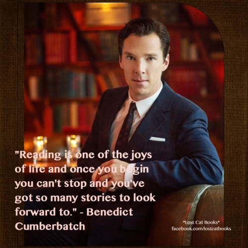 Benedict CumberbatchReading