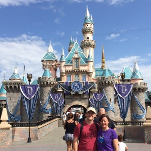 Sleeping Beauty's Castle. Happy 60th Birthday Disneyland!