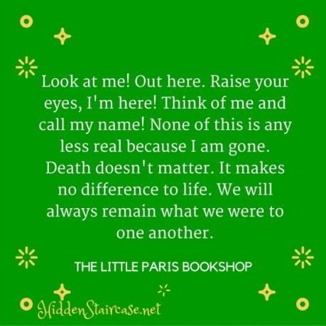 Little Paris Bookshop Quote 2
