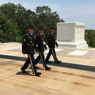 Arlington Cemetary, Tomb of the Unknown Soldier. Changing of the Guard.