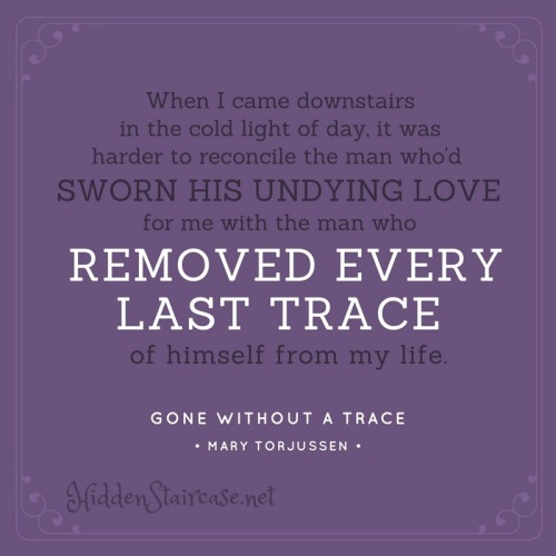 Gone Without a Trace Quote